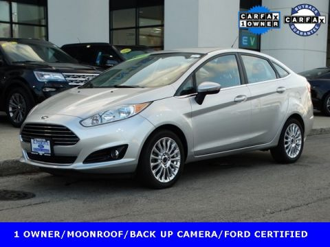 Certified Pre-Owned 2016 Ford Fiesta Titanium