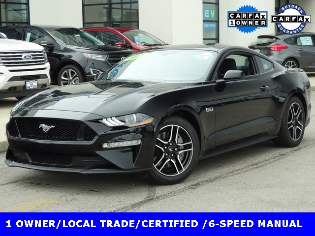 Certified Pre Owned 2018 Ford Mustang Gt Coupe 6 Sd Manual