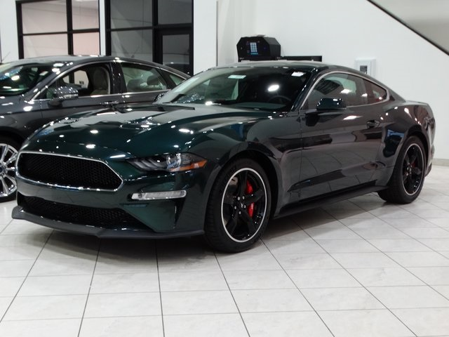 New 2019 Ford Mustang Bullitt Rwd 2d Coupe