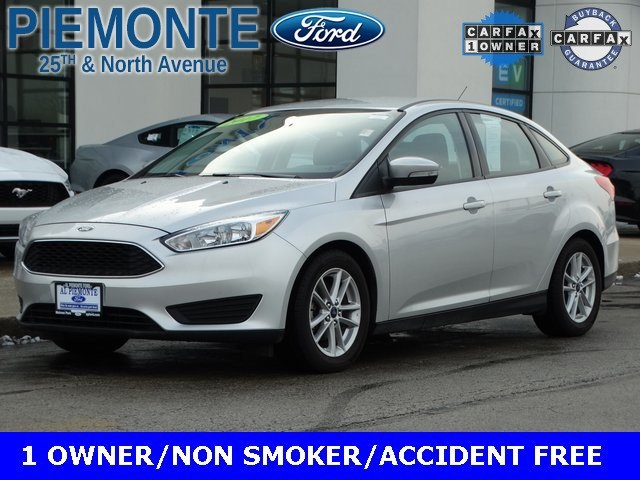 Certified Pre Owned 2017 Ford Focus Se