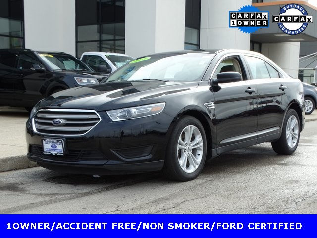 Certified Pre-Owned 2017 Ford Taurus SE