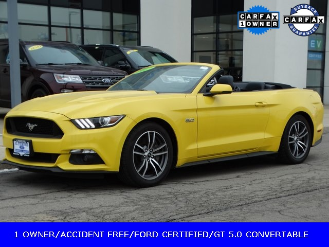 Certified Pre Owned 2017 Ford Mustang Gt Premium Convertable