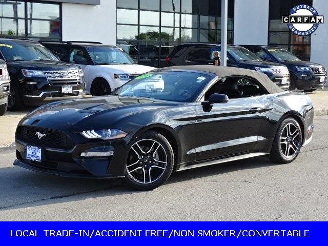 Certified Pre Owned 2018 Ford Mustang Ecoboost Rwd 2d Convertible