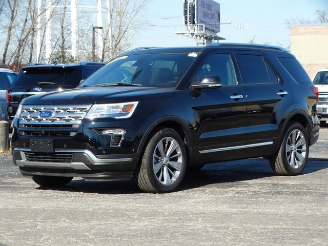 Ford Explorer Limited >> New 2018 Ford Explorer Limited 4d Sport Utility In Melrose Park