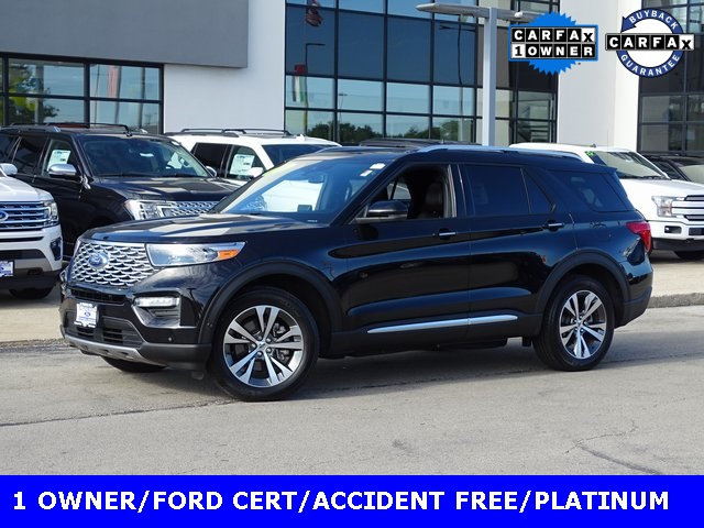 Certified Pre-Owned 2020 Ford Explorer Platinum
