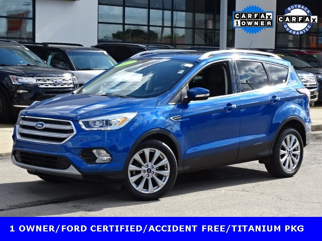 Ford Certified Pre Owned >> Certified Pre Owned 2017 Ford Escape Titanium Fwd 4d Sport Utility