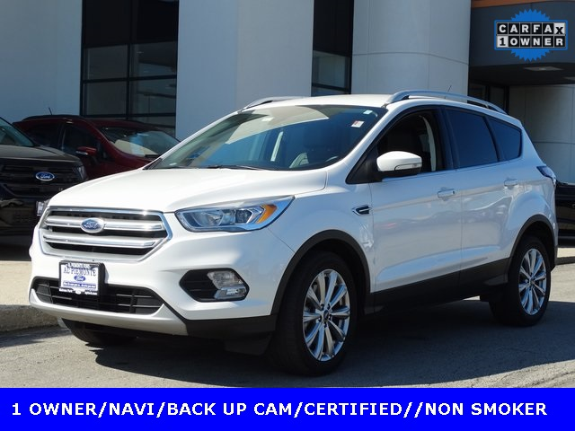 Certified Pre Owned 2017 Ford Escape Anium