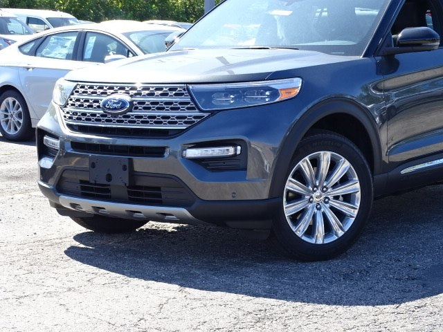 New 2020 Ford Explorer Limited 4d Sport Utility In Melrose