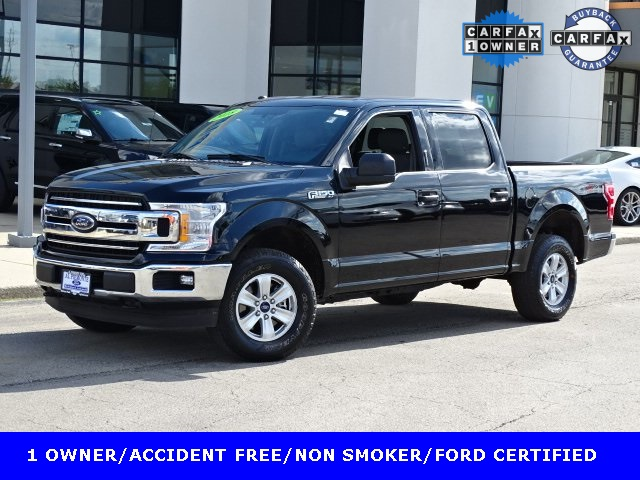 Certified Pre Owned Ford >> Certified Pre Owned 2018 Ford F 150 Xlt 4d Supercrew In Melrose Park