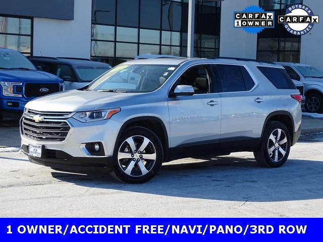 Pre-Owned 2019 Chevrolet Traverse 3 LT