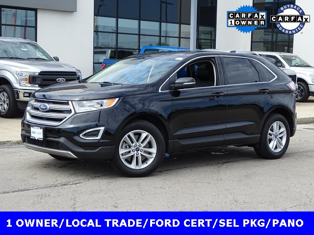 Certified Pre-Owned 2017 Ford Edge SEL