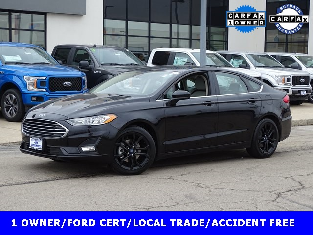 Certified Pre-Owned 2019 Ford Fusion SE
