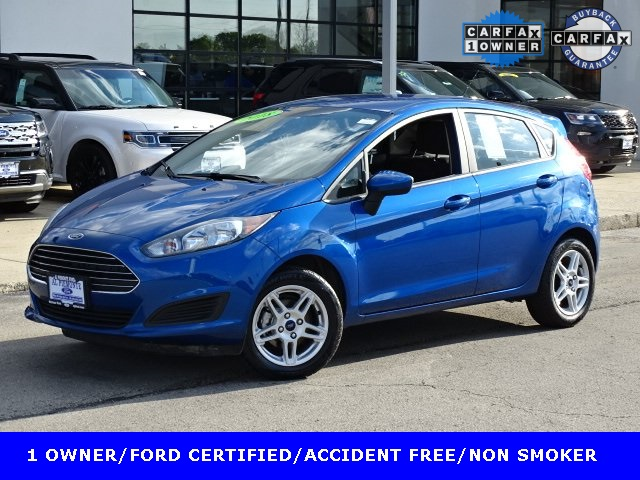 Ford Certified Pre Owned >> Certified Pre Owned 2018 Ford Fiesta Se Fwd 4d Hatchback