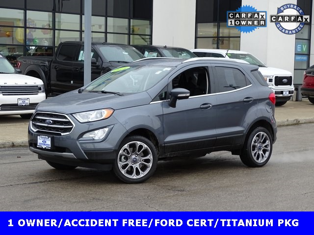 Certified Pre-Owned 2018 Ford EcoSport Titanium With Navigation & 4WD