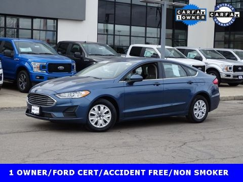 Certified Pre-Owned 2019 Ford Fusion S